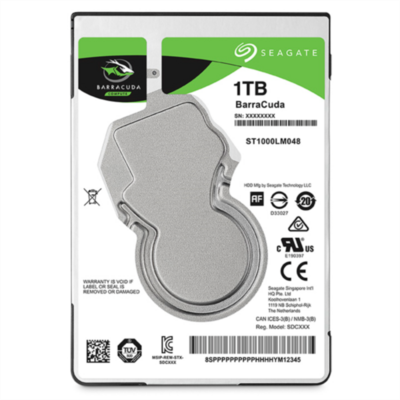 "Seagate 1TB 2,5""(6,35cm) 5400 128MB 7mm Barracuda"